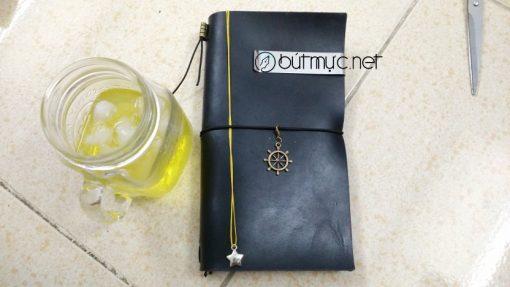 Sổ Midori Travelers Notebook cỡ chuẩn màu đen