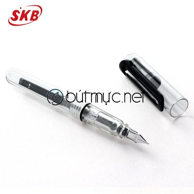 Bút SKB F13 trong suốt