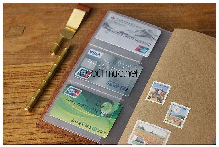 Túi PVC khóa Zip đựng thẻ, giấy tờ tiện dụng